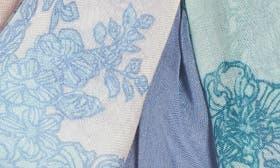 Blue Regency Lace Print swatch image