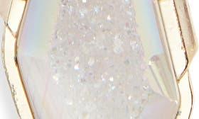 Iridescent Drusy/ Gold swatch image