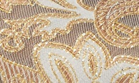 Tan Multi Paisley Fabric swatch image