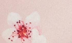 Blossom Print Satin swatch image