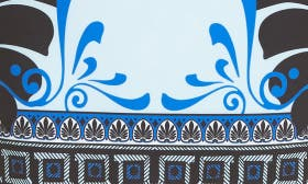 Light Blue/ Print swatch image