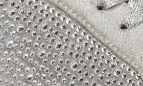 Silver Microsuede swatch image
