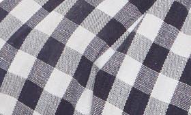 Navy/ White Fabric swatch image