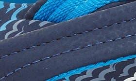 Blue Horizon Waves swatch image