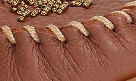 Carmel Deerskin Leather swatch image