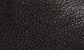 Textured Black Leather swatch image