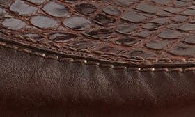 Brown Crocodile Leather swatch image