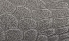 Black/ Grey Leather swatch image
