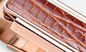 Rose Gold/ Cognac swatch image