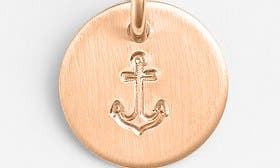 14K Rose Gold Fill Anchor swatch image