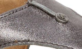 Pewter/ Charcoal Leather swatch image