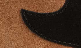 Black/ Natural Suede swatch image