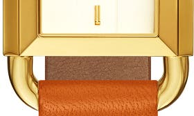 Orange/ Ivory/ Gold swatch image