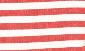 Red/ Ivory Stripe swatch image