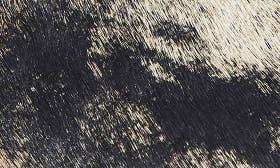 Tan/ Black Palomino Haircalf swatch image