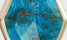 Aqua/ Brass swatch image