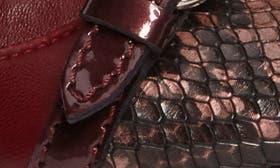 Cherry Rubin Combo Leather swatch image