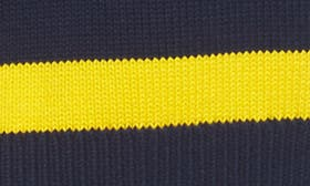 Navy/ Yellow Stripe swatch image