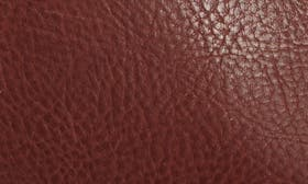 Mahogany Brown Leather swatch image