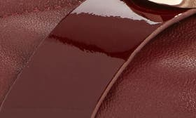 Wine Leather swatch image