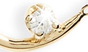 14K Gold Chain/ White Diamond swatch image