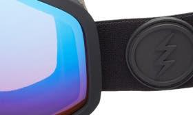 Matte Black / Blue Chrome swatch image