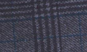 Black Blue Glenn Windowpane swatch image