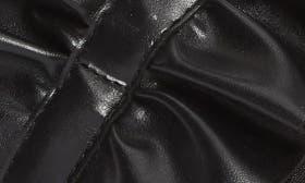 Black Nappa Leather swatch image