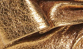 Gold Metallic Leather swatch image