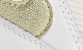 White/ Metallic Gold Star swatch image
