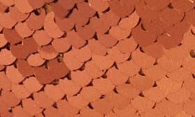 Copper/ Black Sequin Fabric swatch image
