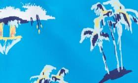 Blue Azul Hawaiian swatch image