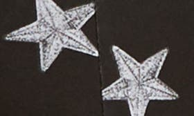 Star Patch Print Black swatch image