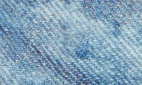 Blue Champagne Denim Fabric swatch image