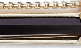 Black Glass/ Gold swatch image
