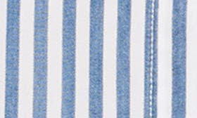 White/ Blue Bell Stripe swatch image