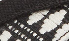 Black Canvas/ Diamond Tribal swatch image