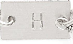 Sterling Silver H swatch image
