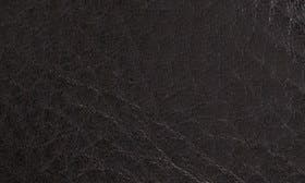 Black Grain Leather swatch image