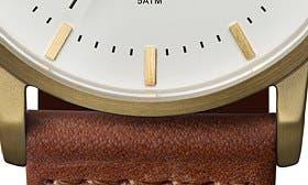 Cognac/ White swatch image