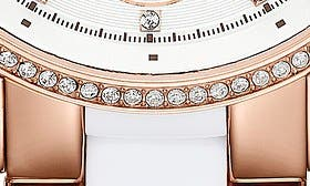 White/ Rose Gold swatch image