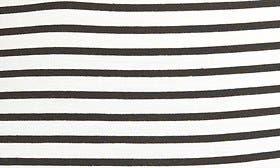 Black Stripe W/ Cream swatch image