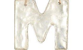 Metallic Silver M swatch image