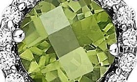 August Peridot / Silver swatch image