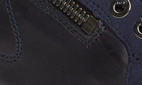 Navy Calfskin Leather swatch image