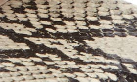 Natural Print Leather swatch image