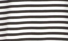 Ivory- Black Stripe swatch image