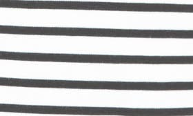 Ivory/ Black Stripe swatch image