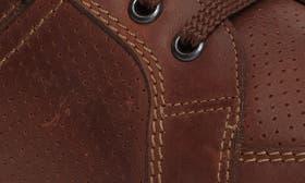 Chestnut Nubuck Leather swatch image