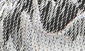 Grey Multi Brocade Fabric swatch image
